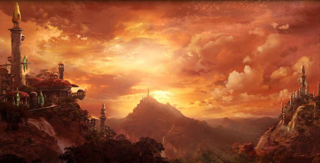 Quel'Thalas is the greatest of the nations in lore.  Fact.