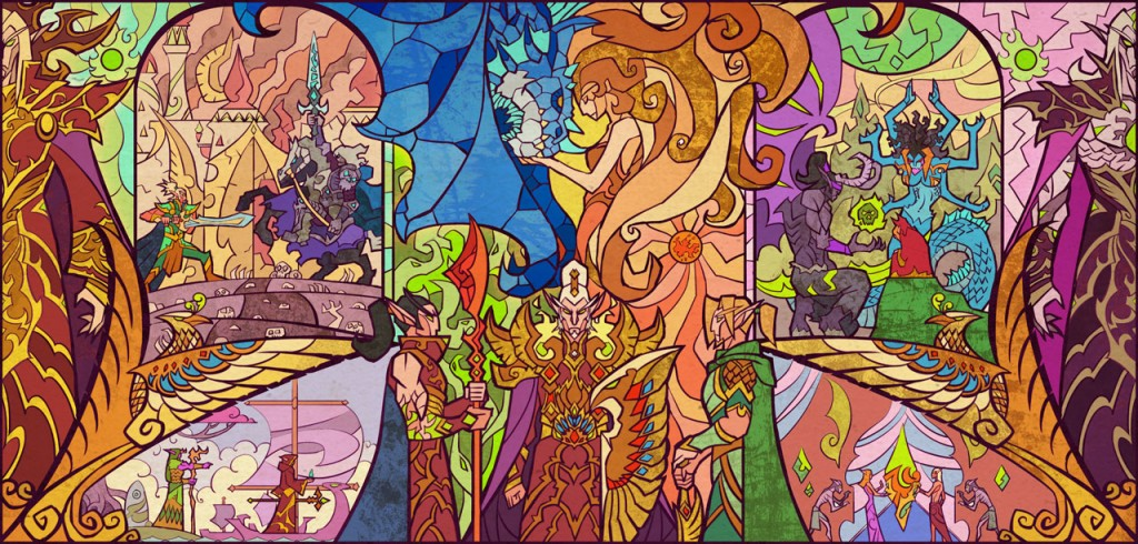 (This, by the way, is the greatest WoW fanart in the history of WoW fanart.  Every little thing here is symbolic!)