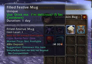 Filled Festive Mug